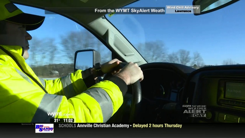 Safe Patrol' helps stranded drivers during severe weather